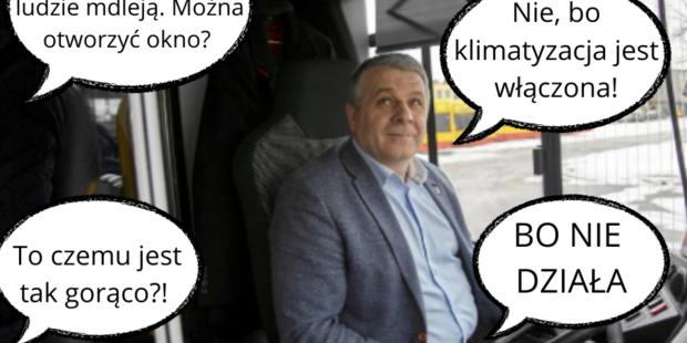 Panie kierowco ludzie mdleja. Mozna otworzyc okno 2